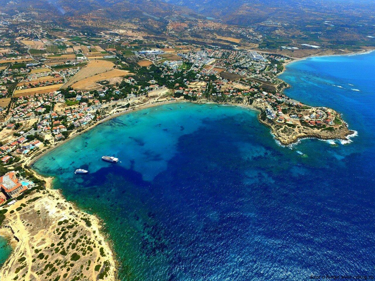 Кипр пляж корал бэй фото